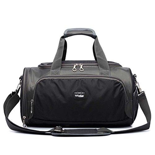 Hochwertige Sporttasche Yoga Tanztasche Reisetasche mit Schuhfach, E (Fitnessraum Mit Schuhfach)