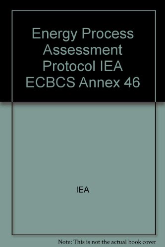 energy-and-process-assessment-protocol-iea-ecbcs-annex-46
