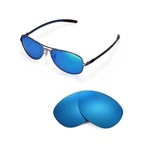 Walleva Ersatzgläser für Ray-Ban RB8301 59mm Sonnenbrille - Mulitple Optionen (Eisblau - Polarisiert)