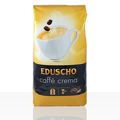 Eduscho Caffe Crema - Karton 6 x 1kg ganze Bohne