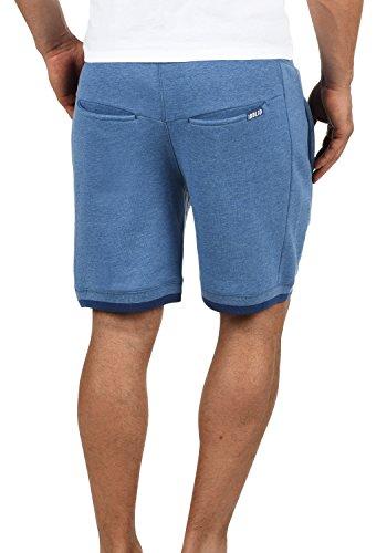 SOLID BenjaminShorts Herren Sweatshorts kurze Hose Sport-Shorts aus hochwertiger Baumwollmischung Faded Blue Melange (1542M)