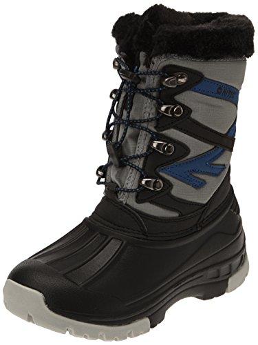 Hi-Tec Avalanche Jr Jungen Stiefel Grau - Gris (Black/Grey/Blue)