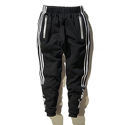 Minetom Sweat-shirts Hommes Rétro à Sweats à Capuche Manche Longue Hoodie Tops Casual Pantalon de Sport Hiphop Baggy Jogging Sarouel Pants Pantalons 01 EU S