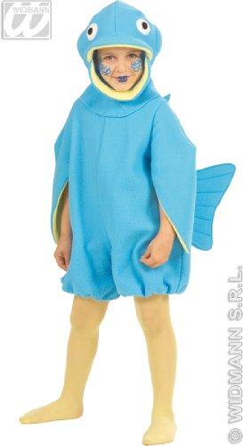 fish Kinder Kostüm, Größe 3-4 Jahre (3457F 3-4 ()