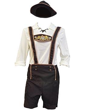 Bslingerie Herren Oktoberfest Beer Bavarian Guy Hosen Kostüm Set