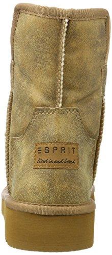 ESPRIT Damen Dulce Vintage Schlupfstiefel Braun (Rust Brown)