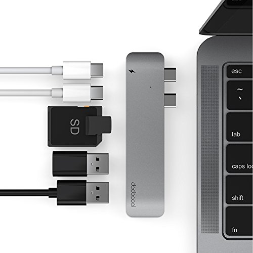 41WGDKwIcfL - [Amazon.de] dodocool Dual USB-C Hub für 35,99€ statt 59,99€