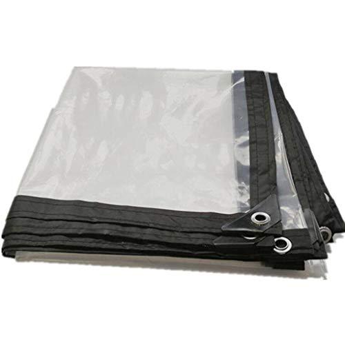 Baches Yang Transparente Étanche À La Pluie Étanche Lourd Panneau en Plastique Tissu Fenêtre Balcon Fleurs Bord Poinçonnage Récolte De Serre Film 2x2m - Options Multi-Tailles (Taille : 2x2m)