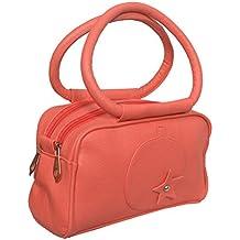 Mango Star Pu Girl's Small Carry Bag - Redish