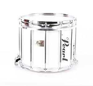 pearl competitor high tension marching snare drum white 886830869426 musical. Black Bedroom Furniture Sets. Home Design Ideas