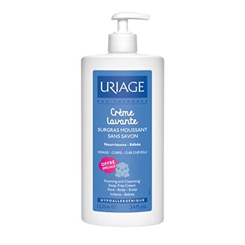 Uriage bambino Cleansing Cream 1 L [Automotive]