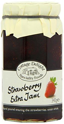 Original English Strawberry Jam Extra - 2x 340 g - Cottage Frühstück