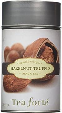 Tea Forte HAZELNUT TRUFFLE Loose Leaf Black Tea, 3.5 Ounce Tea Tin