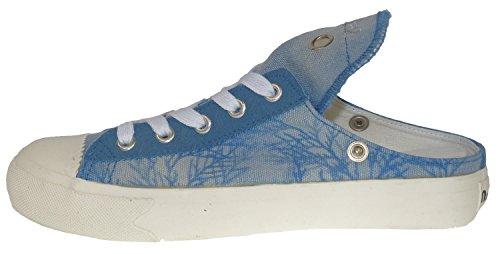 Nat-2 n2STACK31bltW Canvas Sneaker blue Blue
