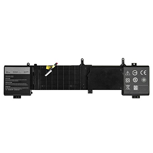 7XINbox Dell 6JHDV Batterie 14.8V 92Wh Laptop Ersatz Akku für Dell Alienware 17 R2 R3 ALW17ED ALW17ER Serie 5046J P43F