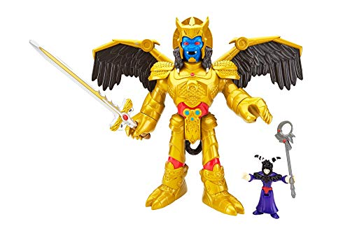 Imaginext CJP65 Power Rangers Goldar et Rita Repulsa Figurines