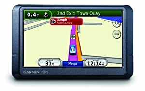 Garmin Nuvi 255W Satellite Navigation with Full EU Mapping (Newly Overhauled)