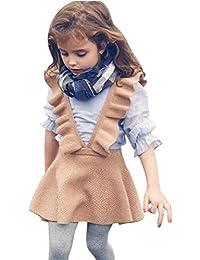 Veatido niña de otoño Invierno, Amlaiworld Bebé niñas otoño Invierno ropa de vestir 2 Años - 6 Años