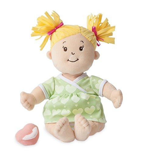 Manhattan Toy Stella Soft First Baby Doll, Blonde