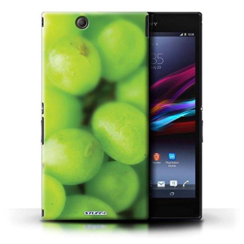 Kobalt® Imprimé Etui / Coque pour Sony Xperia Z Ultra / Ananas conception / Série Fruits Raisin