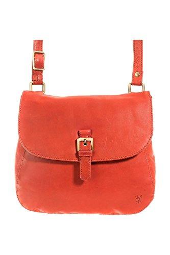 Marc OPolo Accessories Talisha Ueberschlagtasche 11599 39000 308, Borsa a tracolla donna 24x24x7 cm (L x A x P) Rosso (Rot (terracotta))