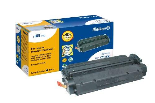 Pelikan Toner-Modul 1105HC ersetzt HP C7115X, Schwarz, 7650 Seiten