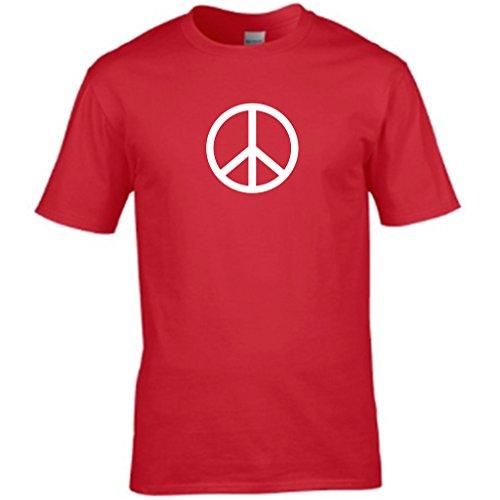 CND peace Herren T shirt Rot - Rot