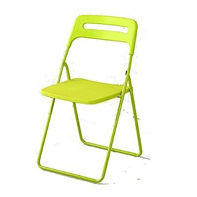 Hocker YANFEI Klappstuhl Rückenlehne Kunststoff Büro Sitzung Haushalt tragbaren Stuhl von YANFEI - Gartenmöbel von Du und Dein Garten