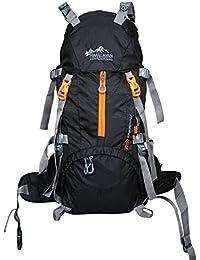 Himalayan Adventures 50 Ltrs Black Backpack/Rucksack/Travelling Bag/Hiking Bag/Adventure Bag/Camping Bag (Nylon...