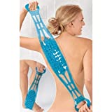 Doppelseitige Rückenbürste & Massageband