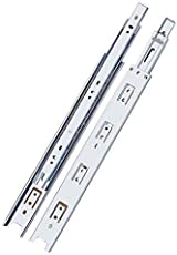 """AXLOY Telescope Channel/Drawer Slide Channel, Zinc (Size: 28""""-Inches) 2 Pcs. Set"""