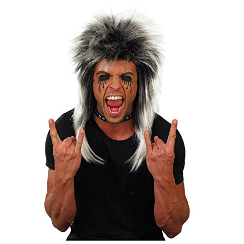 Fun Shack Unisex Glam Rock Costume Wig, One Size