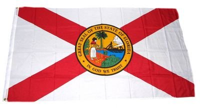 Fahne / Flagge USA Florida NEU 90 x 150 cm Flaggen