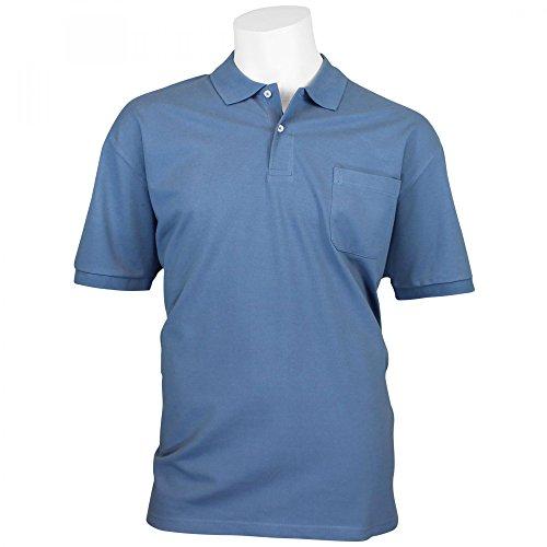Kitaro Poloshirt Übergröße bis 10XL Jeansblau