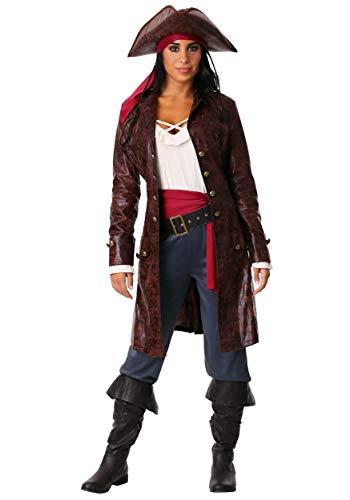 Fun Costumes Piraten-Kapitän-Kostüm der Frauen - ()