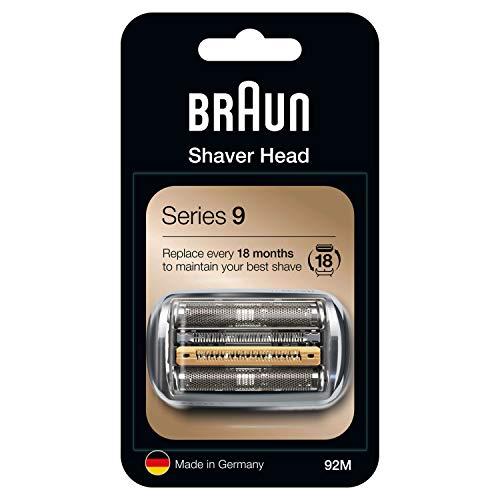 Braun Series 9 92M Elektrischer Rasierer Scherkopfkassette - Silber