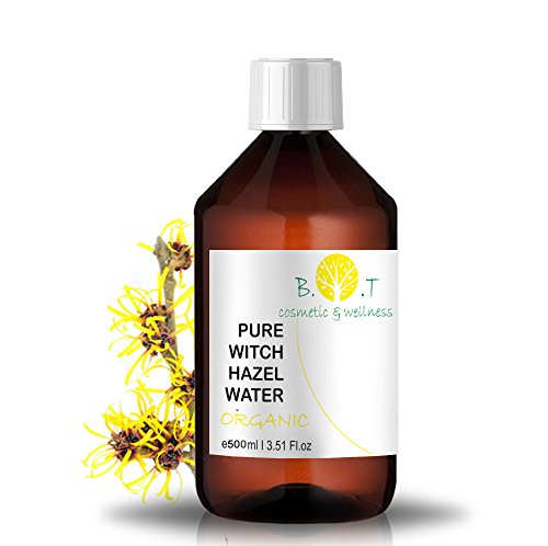 BIO-Blütenwasser Hydrolat Hamamelis - 500 ml HAMAMELIS BLÜTENWASSER