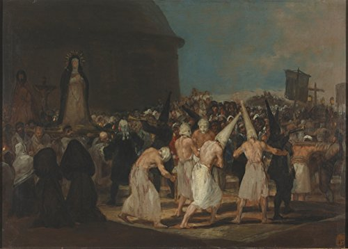 millesime-fransisco-goya-procession-des-penitents-environ-1812-19-sur-format-a3-papiers-brillants-de