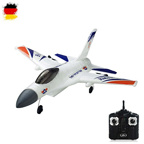 2.4GHz RC ferngesteuertes Air Force F16 Flugzeug Kampf-Jet, 3D Flieger-Modell, Ready-to-Fly - Komplett-Set