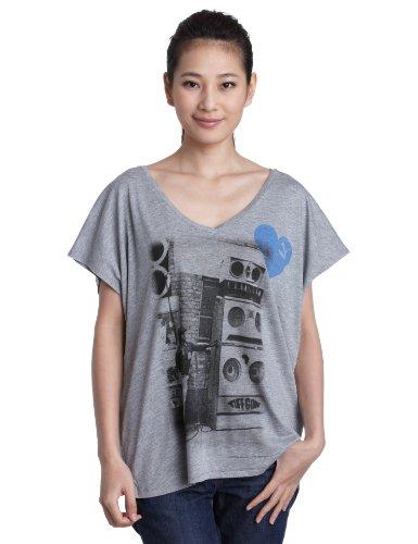 Puma Me Collab T-shirt pour femme Gris