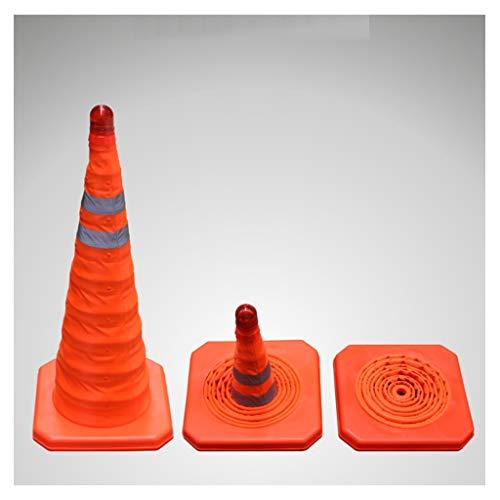 LXFYMX Coni Antinfortunistici 70 Coni di Traffico Pieghevole Pop up di avviso Coni Cono Arancione Sicurezza di parcheggio Coni stradali