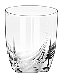 Treo Stroke Glass Tumbler Set, 275ml, Set of 6, Nocolortrans