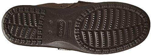 Crocs Santa Cruz, Espadrilles homme marrone scuro (Espresso/Espresso)