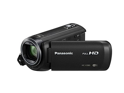 Panasonic HC V380 Videocamera Full HD Nero