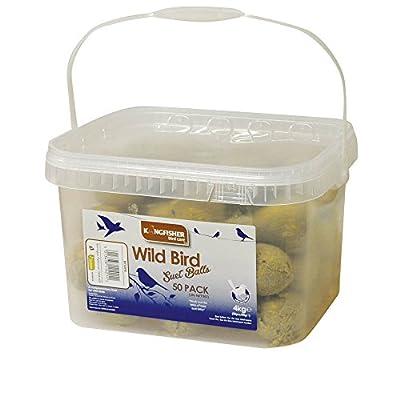 Kingfisher BF50FB Tub of Fat Balls (Pack of 50) from Bonnington Plastics Ltd