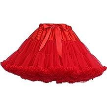 792cdc132 FOLOBE Traje de Tutú de Mujer Danza de Ballet Falda Hinchada de Múltiples  Capas Adulto Lujoso