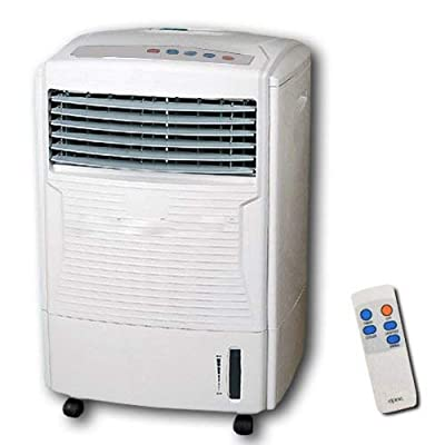 Unibos New portable evaporative 3 speed oscillating fan air cooler cold with timer and remote control 60w