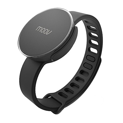 Moov - Smart Multisport Fitness Coach & Tracker (schwarz) -