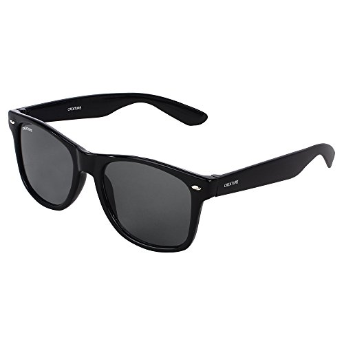 Creature Wayfarer Glossy Finish Unisex Sunglasses