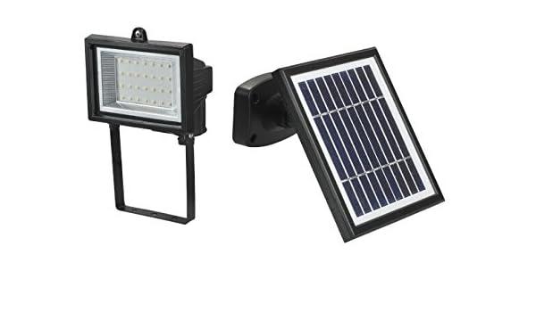 Faretto led da esterno e da giardino con pannello solare
